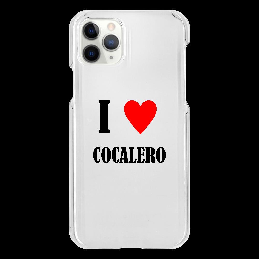 【お酒大好きシリーズ】I ♥ コカレロ iPhone11 Pro(透明)