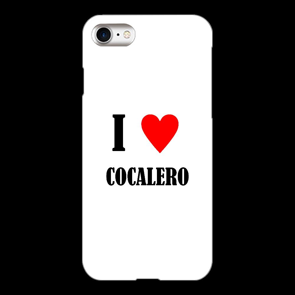 【お酒大好きシリーズ】I ♥ コカレロ iPhone8(透明)