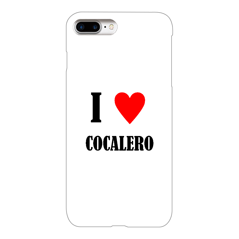 【お酒大好きシリーズ】I ♥ コカレロ iPhone8Plus(透明)