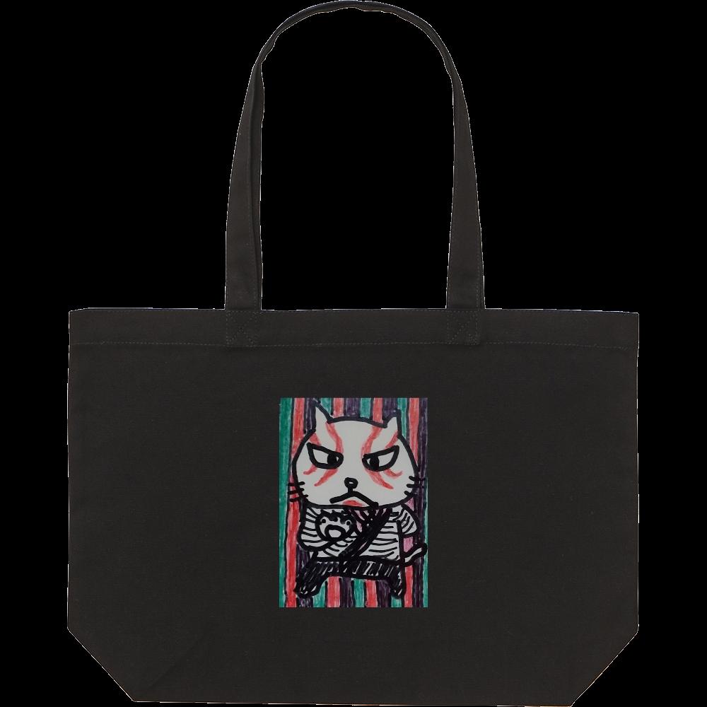 歌舞伎猫 スタンダードキャンバストートバッグ(W)