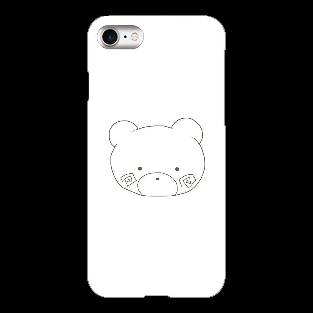 くまのすけ(色無し) iPhone8(白)