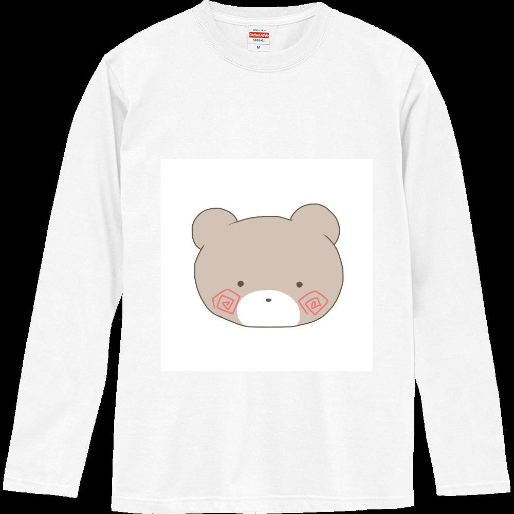 くまのすけ(カラー) ロングスリーブTシャツ