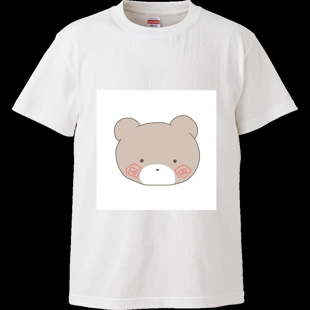 くまのすけ(カラー) ハイクオリティーTシャツ