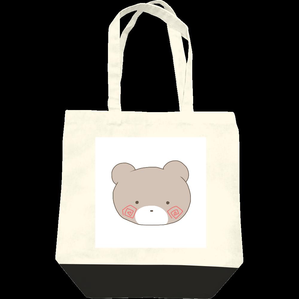 くまのすけ(カラー) レギュラーキャンバストートバッグ(M)