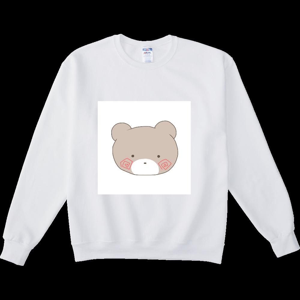 くまのすけ(カラー) NUBLENDスウェットシャツ