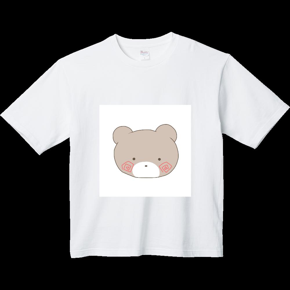 くまのすけ(カラー) ヘビーウェイト ビッグシルエットTシャツ