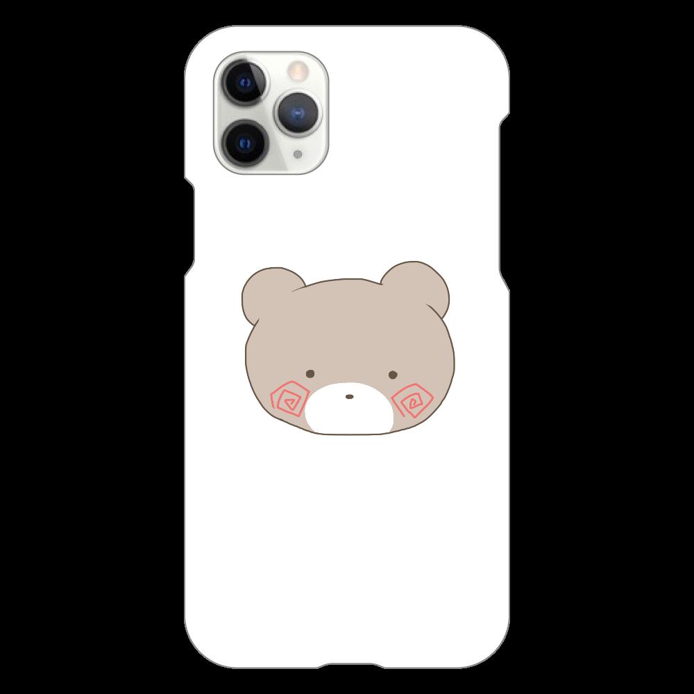 くまのすけ(カラー) iPhone11 Pro(白)