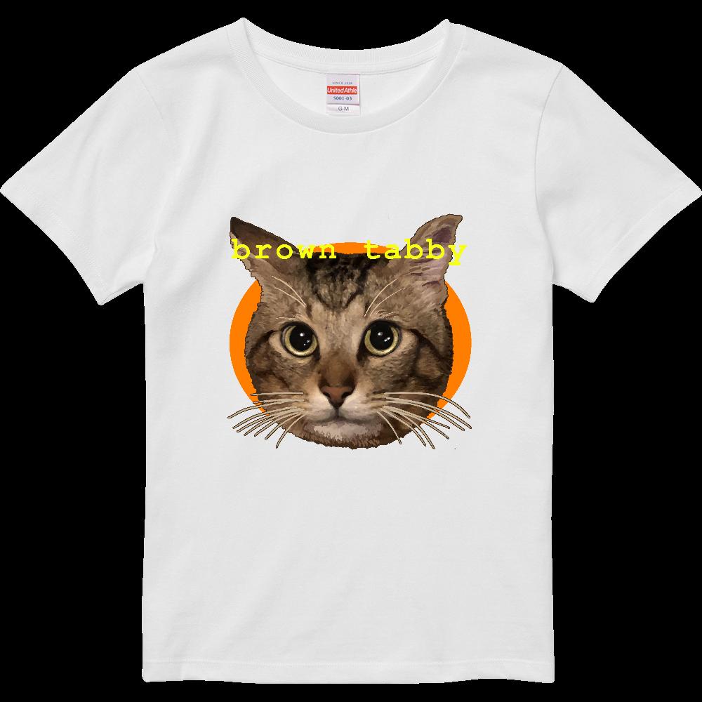 キジトラ大好き ハイクオリティーTシャツ(ガールズ)