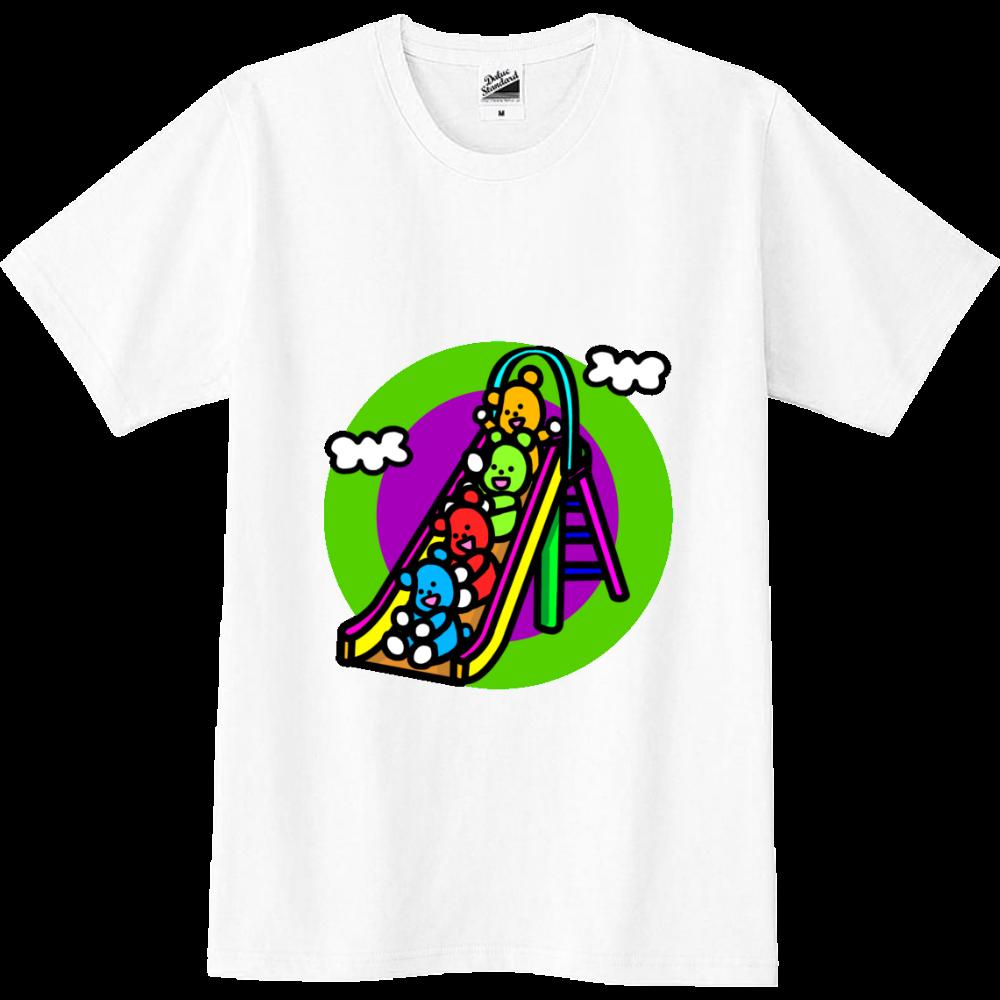 くまの遊び スリムTシャツ
