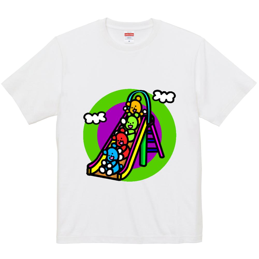 くまの遊び 5.0オンス ユニバーサルフィットTシャツ