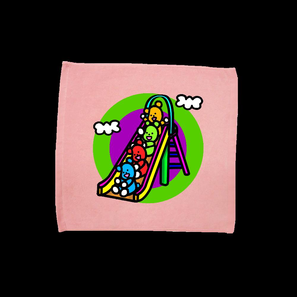 くまの遊び ハンドタオル