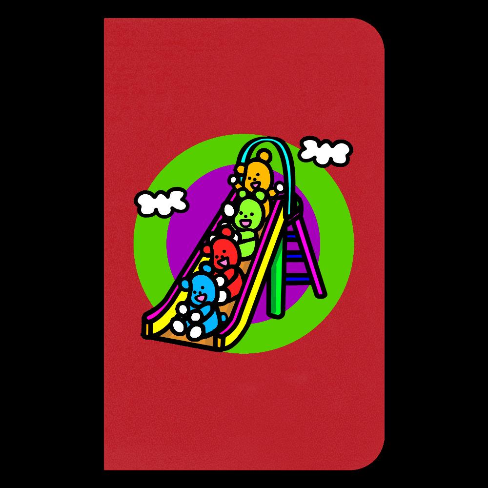 くまの遊び ハードカバーミニノート(罫線)