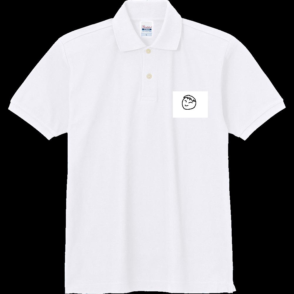 男の子の顔 定番ポロシャツ