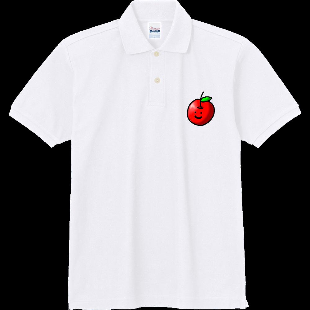 つぶらなひとみのりんごちゃん 定番ポロシャツ