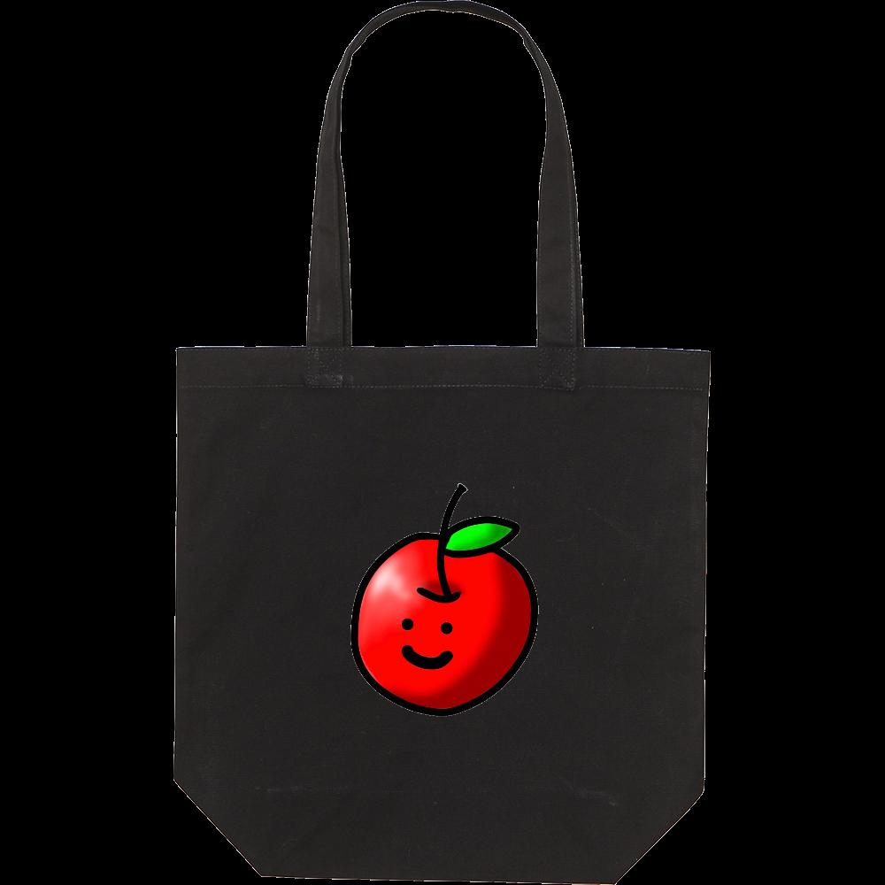 つぶらなひとみのりんごちゃん スタンダードキャンバストートバッグ(M)