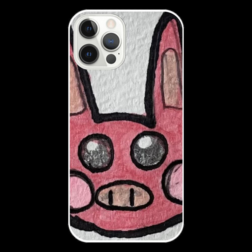 うさぶたちゃん。 iPhone12 Pro(透明)