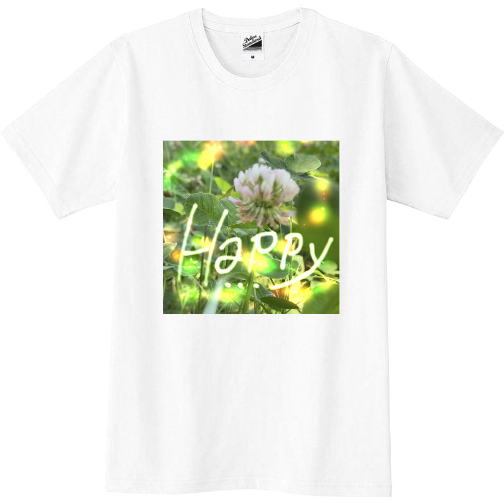 Tシャツ happy スリムTシャツ