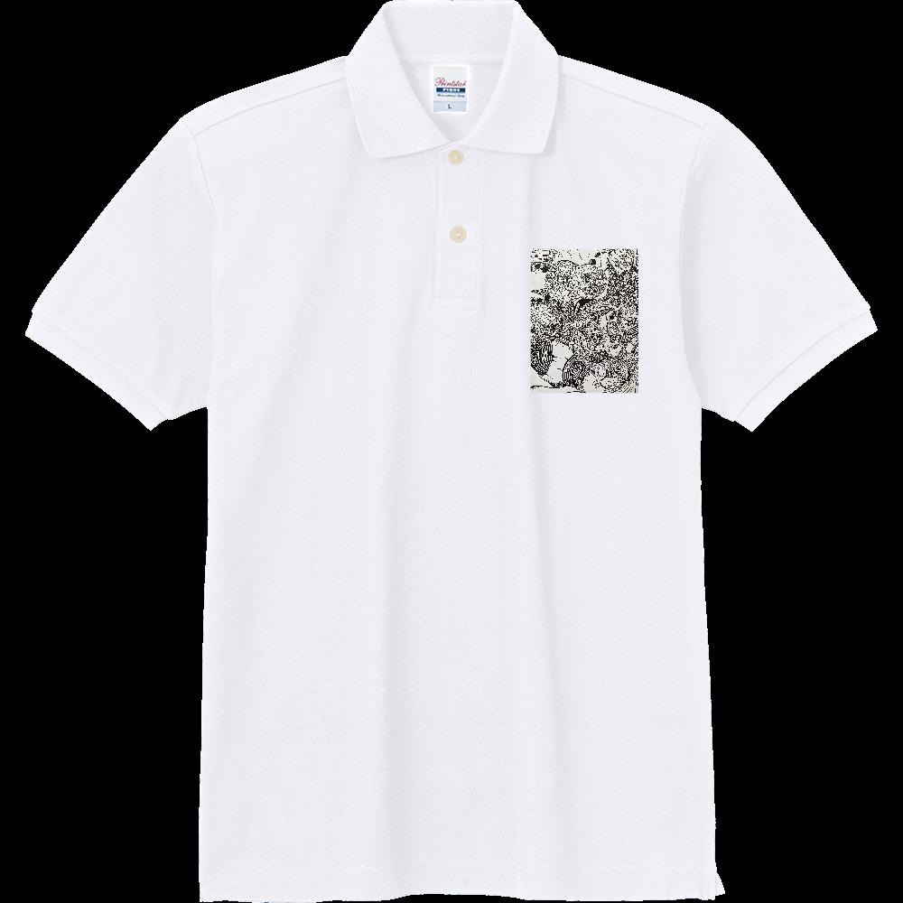メダカ 定番ポロシャツ