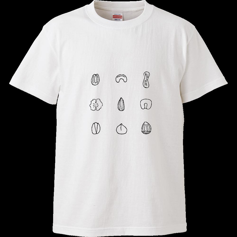 nuts ハイクオリティーTシャツ