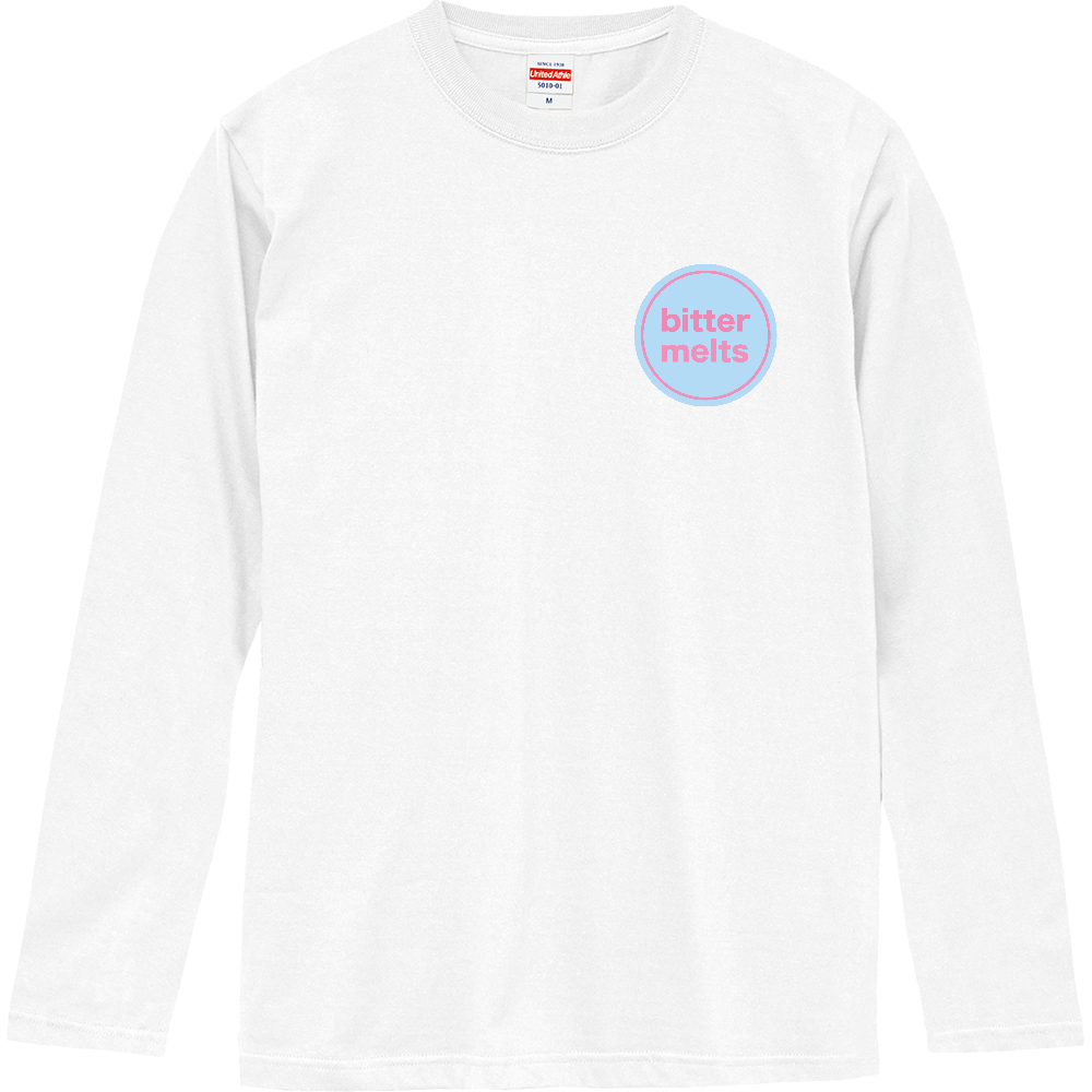 bitter melts 胸ロゴロンT ロングスリーブTシャツ