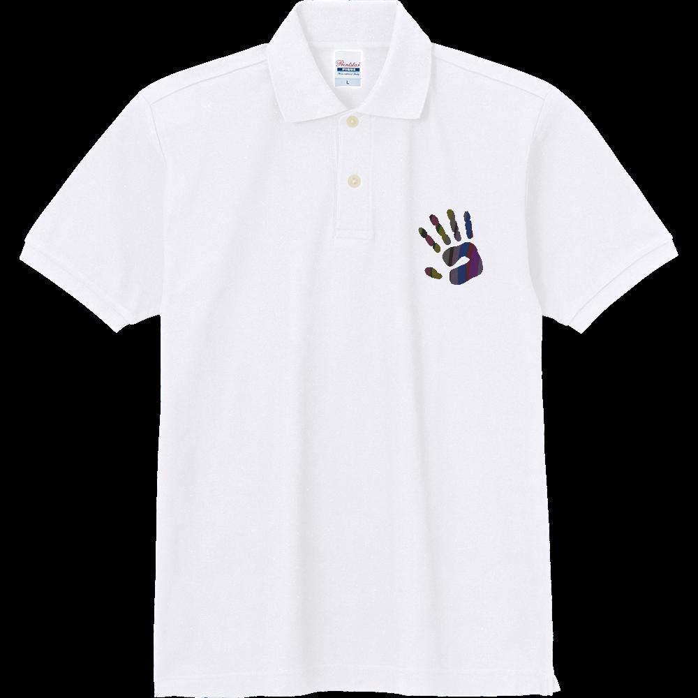 手形 定番ポロシャツ