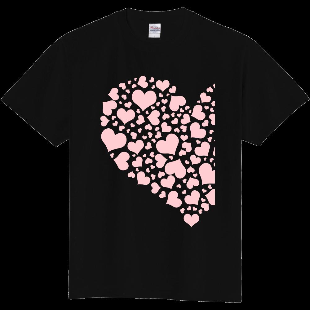 ハートTシャツ 定番Tシャツ