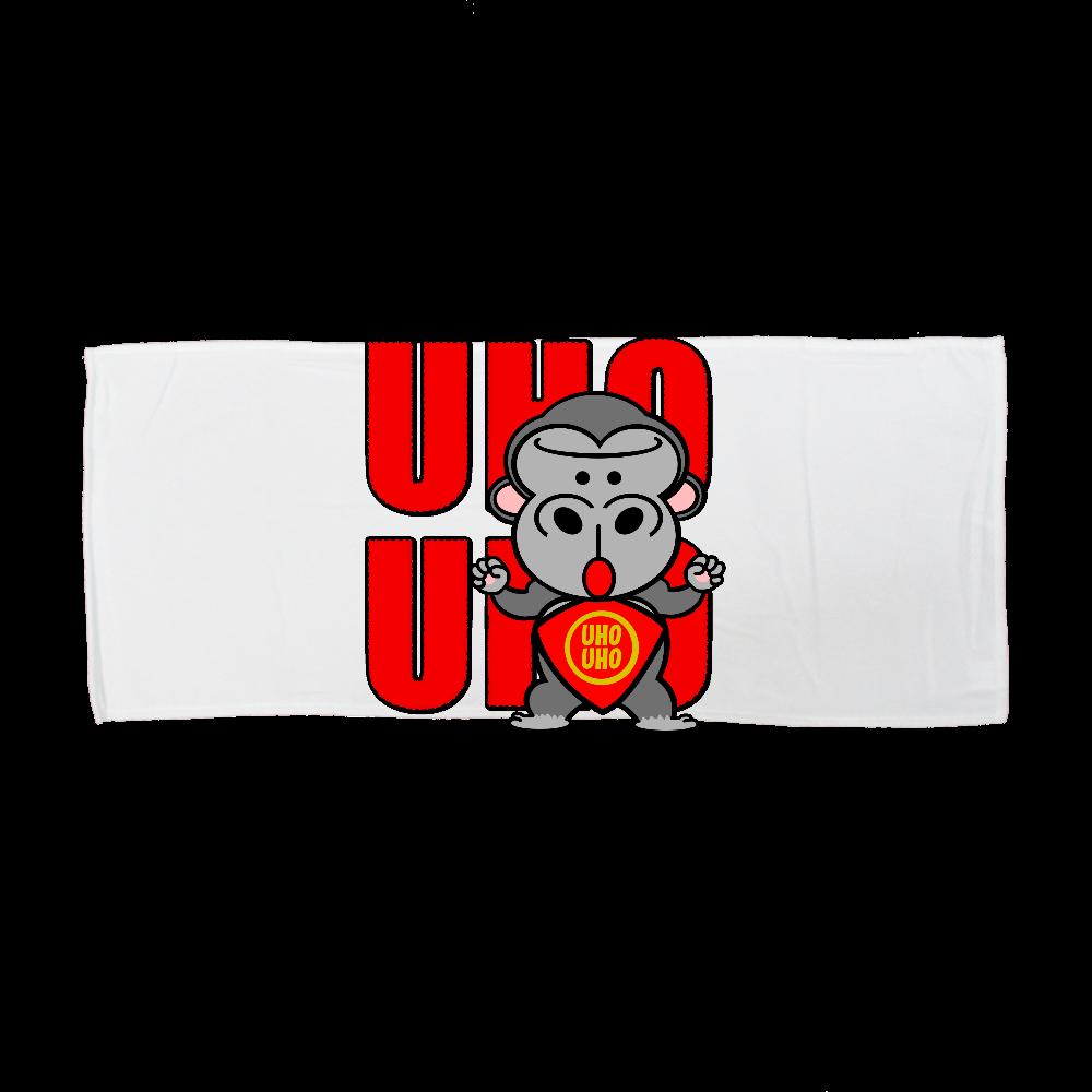 UHOUHOゴリッキー(金太郎バージョン) 全面インクジェットフェイスタオル