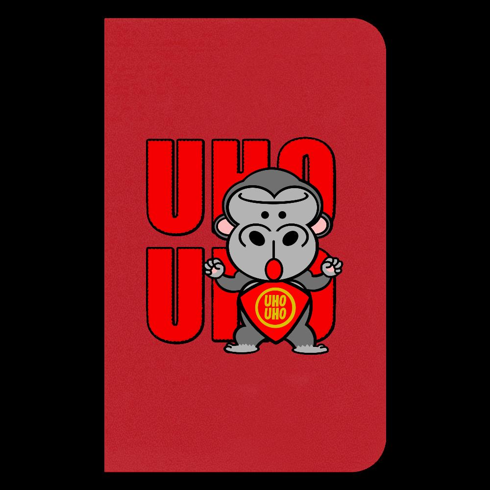 UHOUHOゴリッキー(金太郎バージョン) ハードカバーミニノート(罫線)