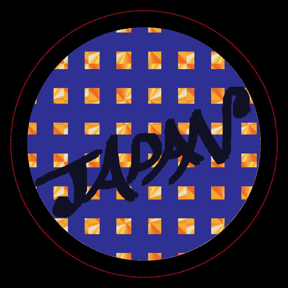 日本を応援したい! ホログラムオリジナル缶バッジ(56mm)
