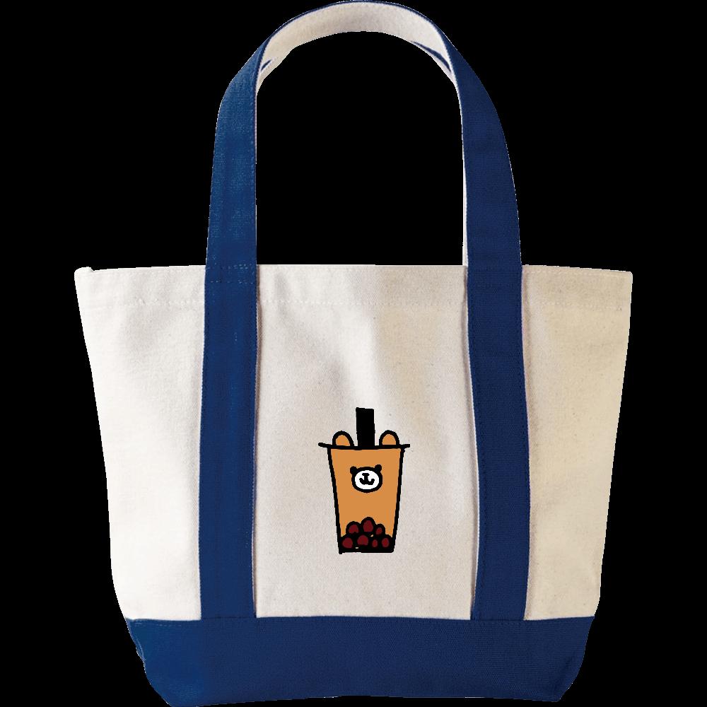 タピオカミルクティークマ ミニヘビートートバッグ