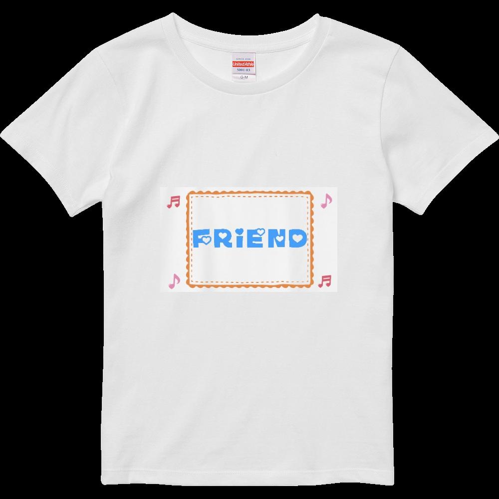 FRIEND ハイクオリティーTシャツ(ガールズ)