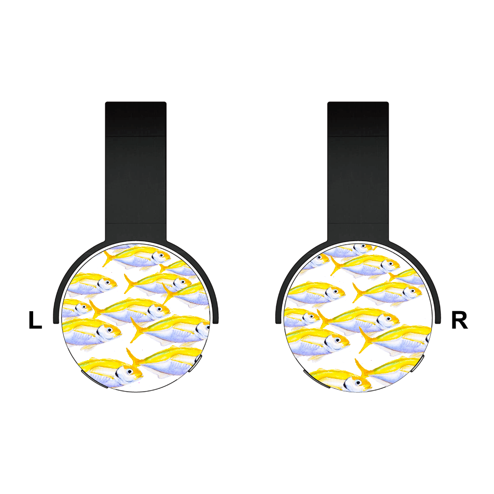 海の中 マアジの大群 Bluetoothヘッドフォン