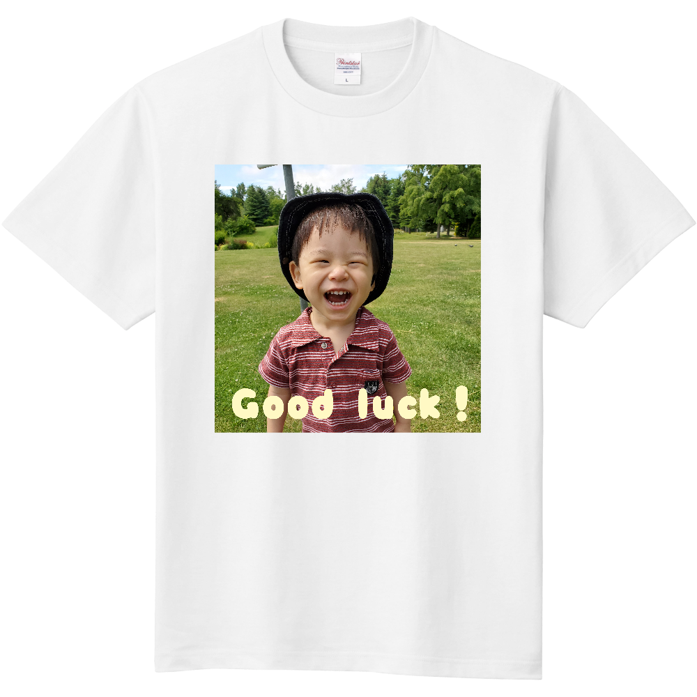 Good luck!#東京オリンピック #頑張れ日本 定番Tシャツ