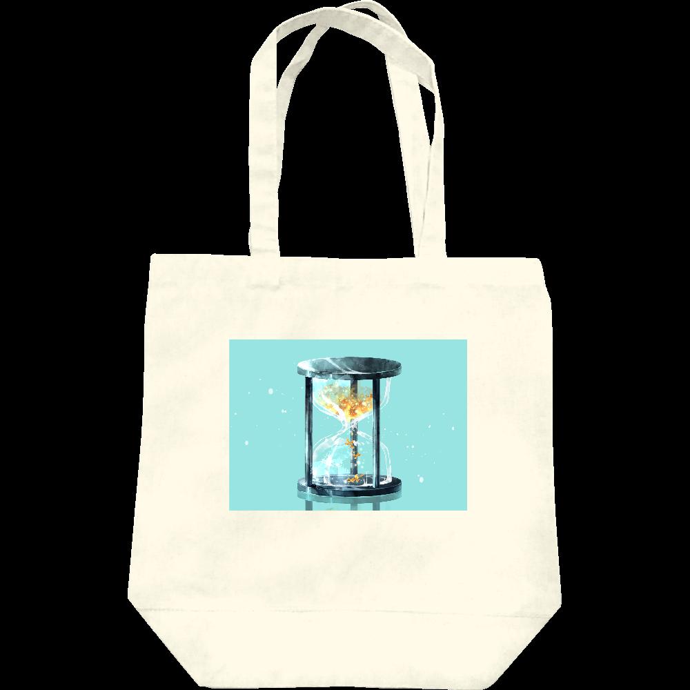 【オリラボマーケット限定】秋、金木犀、砂時計 トートバッグ レギュラーキャンバストートバッグ(M)