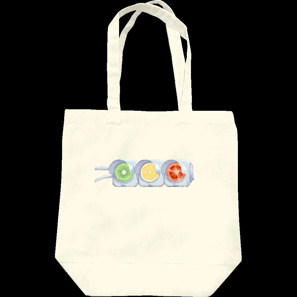 【オリラボマーケット限定】Traffic fruitsトートバッグ レギュラーキャンバストートバッグ(M)