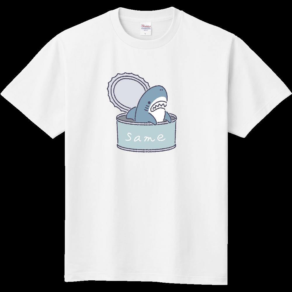 サメの缶詰め 定番Tシャツ