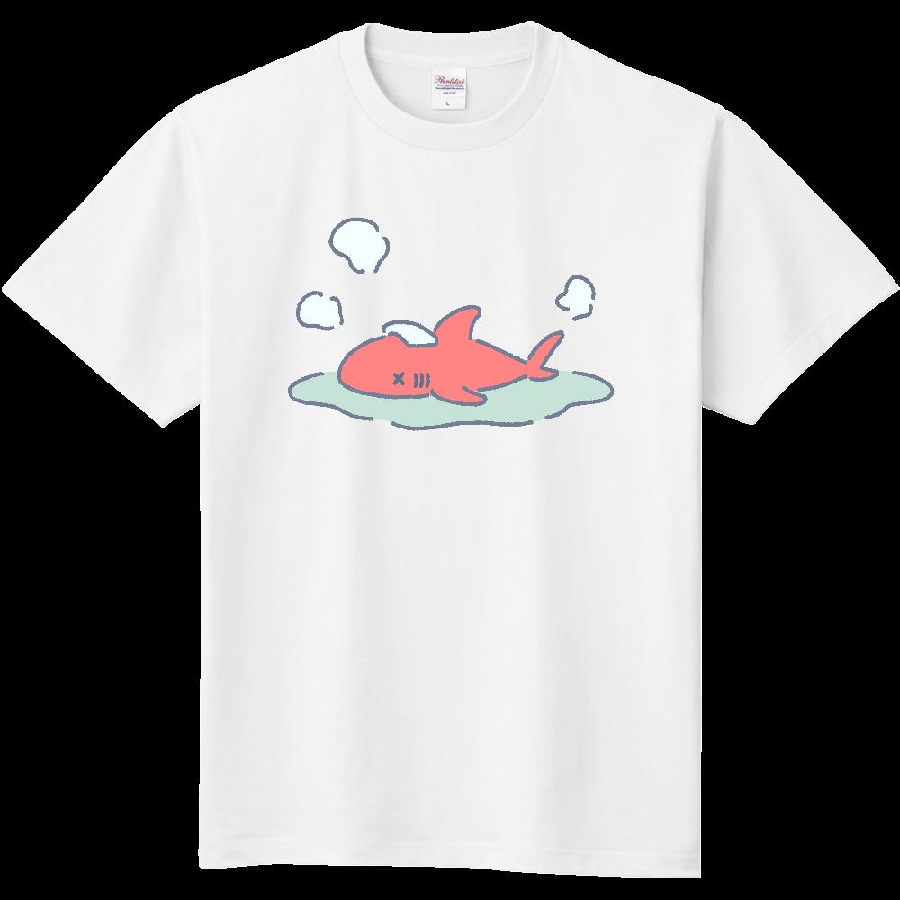 のぼせたサメ 定番Tシャツ