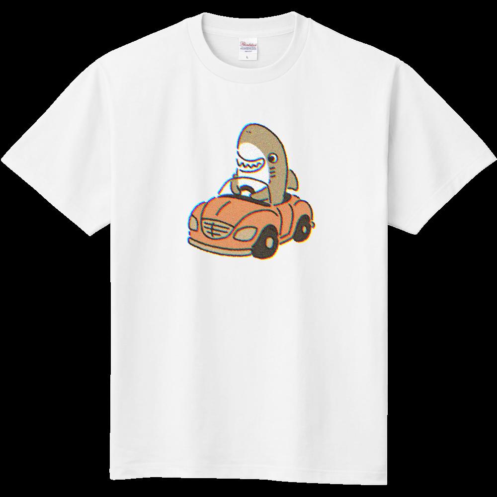 元祖運転を覚えたサメ 定番Tシャツ