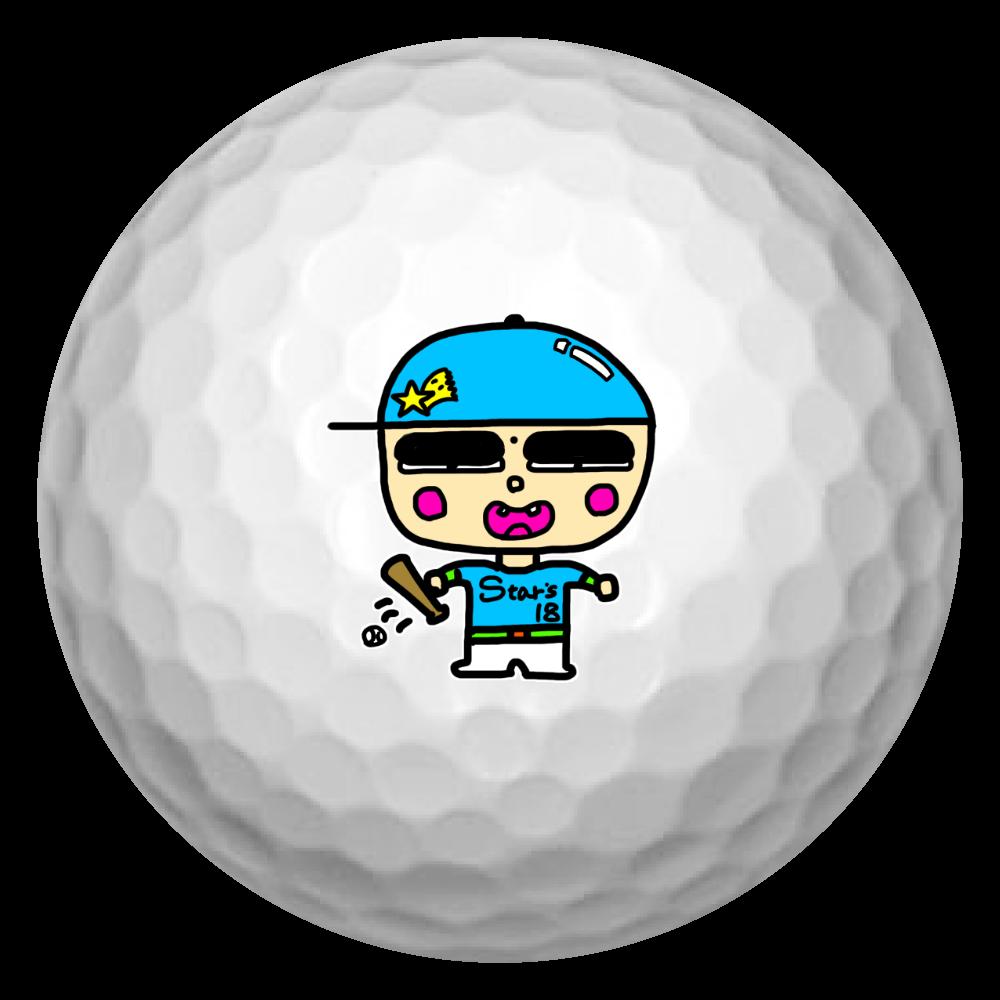 マユ太郎 ゴルフボール(3個セット)