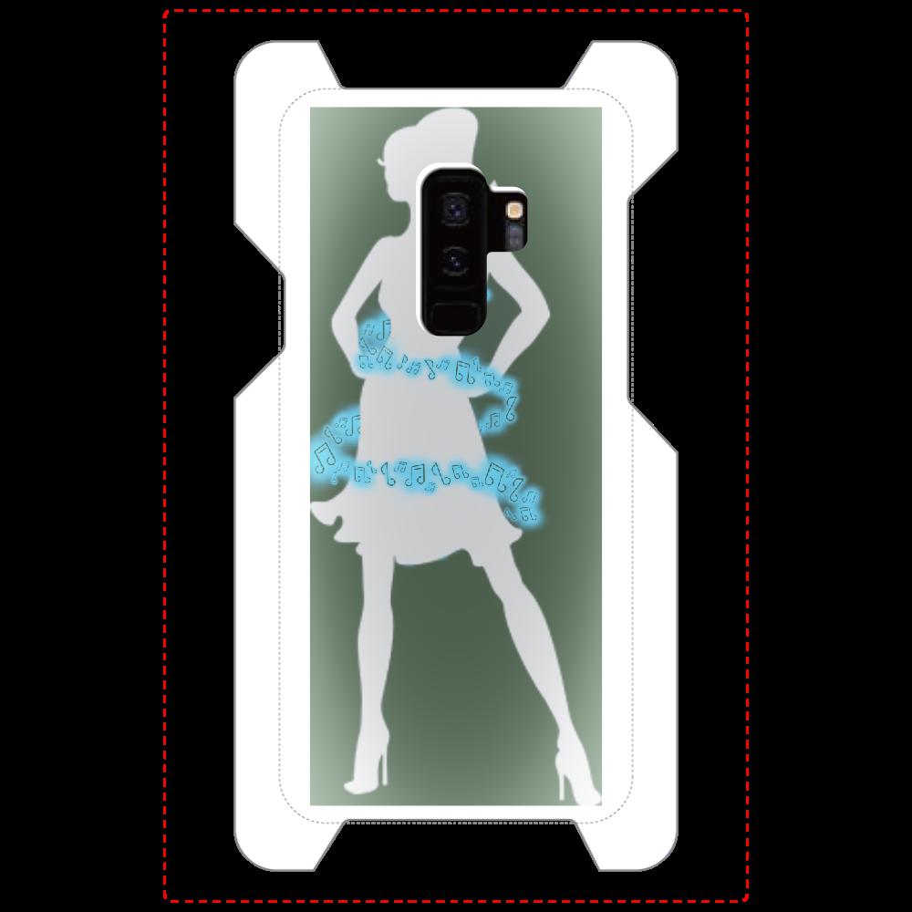 女性( ꈍᴗꈍ)と天使( ꈍᴗꈍ) Galaxy S9+(SC-03K)