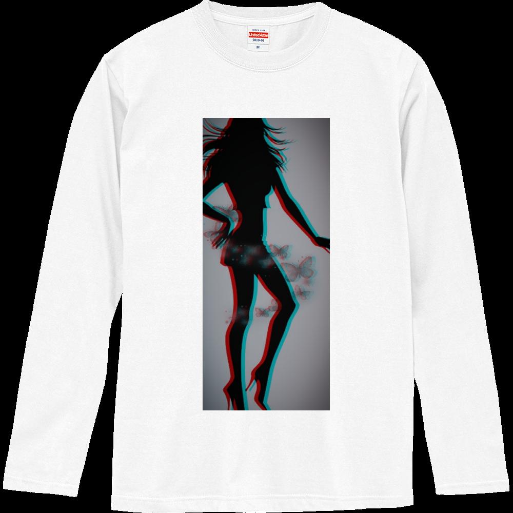 女性( ꈍᴗꈍ)と天使( ꈍᴗꈍ) ロングスリーブTシャツ