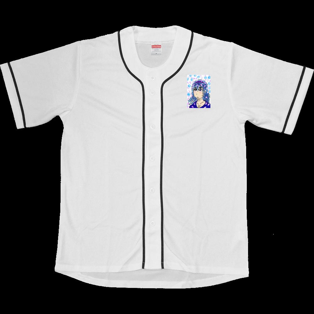 淡い少女 OLIRAB MARKET.Version.2 ドライベースボールシャツ