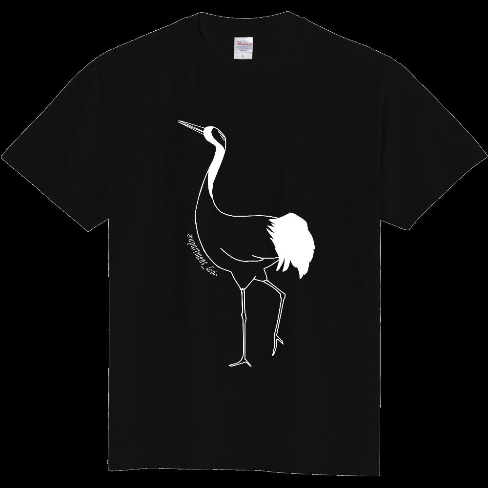 【アパートメントラボ】鶴Tシャツ 定番Tシャツ