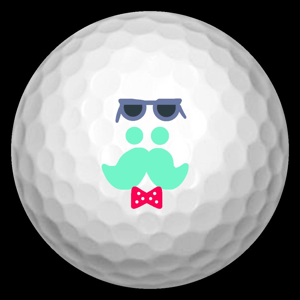 うかれおじさん ゴルフボール(3個セット)