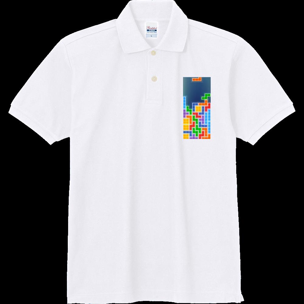 テトリス^_^ 定番ポロシャツ