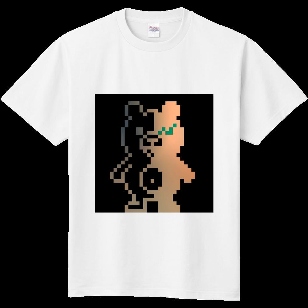 ドットクマ(´(ェ)`) 定番Tシャツ
