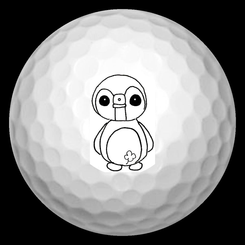気分屋ペンちゃんゴルフボール ゴルフボール(3個セット)