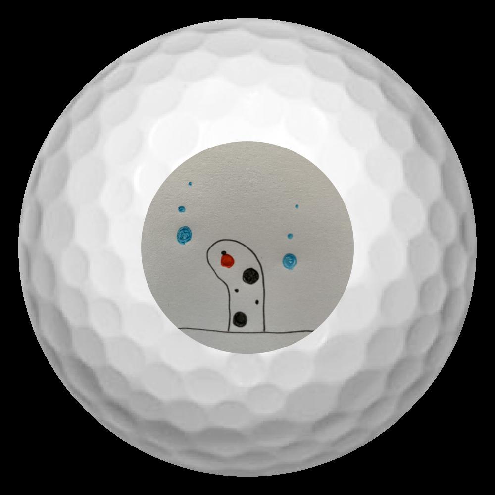 チンアナゴ ゴルフボール(3個セット)