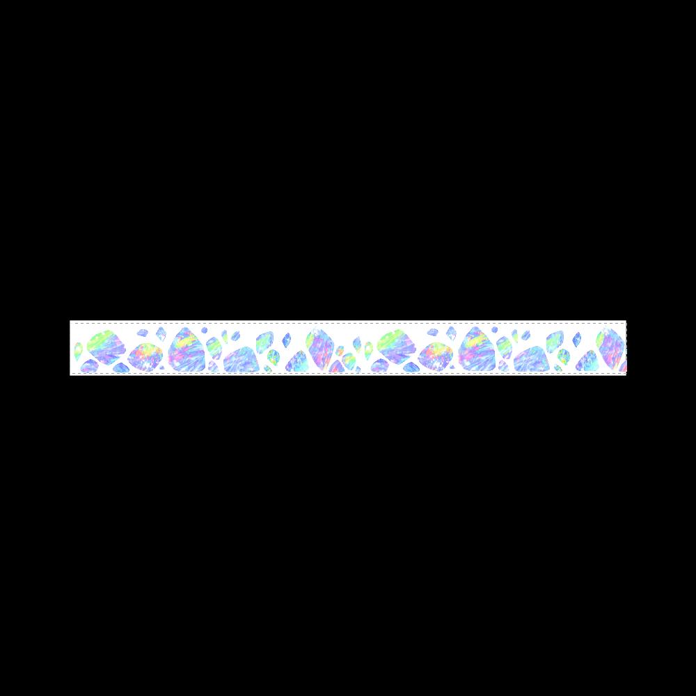 オパール色の氷 20mmマスキングテープ