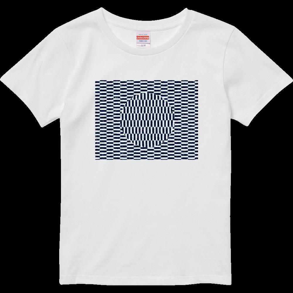 幾何学アート2 ハイクオリティーTシャツ(ガールズ)